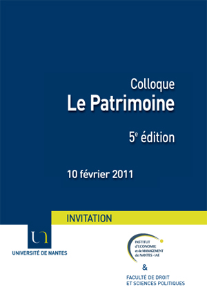 Invitation au colloque